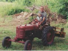 1955 Lo-Boy with Fast-Hitch and Mott Flail Mower Bob Burke