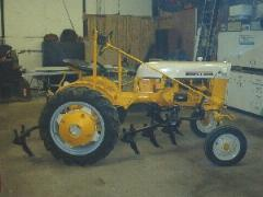 1965 Cub with Fast-Hitch and Cub-144 cultivator Ralph in KY
